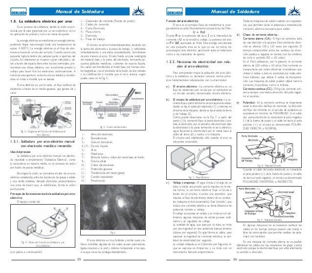 Manual de soldadura oerlicon