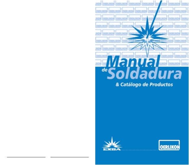 Manual de Soldadura Manual de Soldadura 1