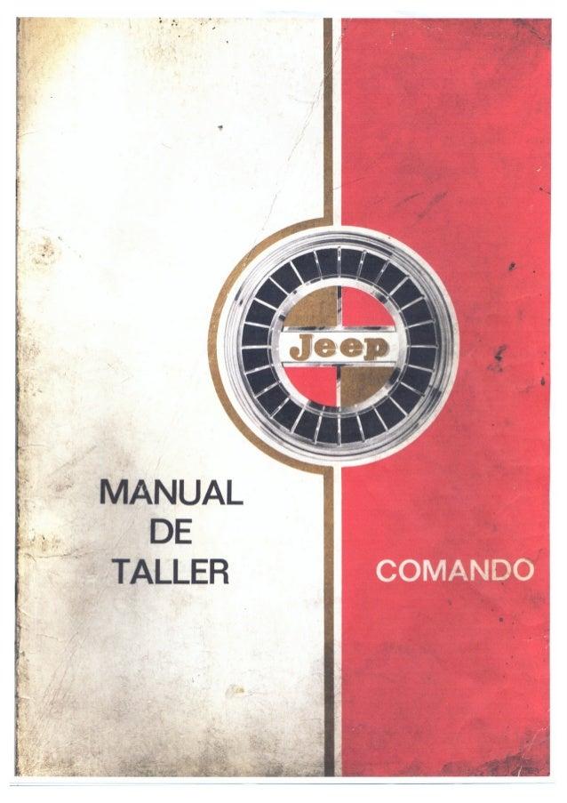 Manual de Taller Jeep Comando
