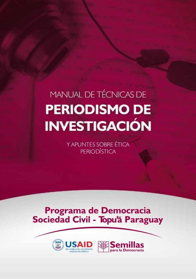 La educación cívica en Paraguay un análisis curricularY apuntes sobre Ética Periodística