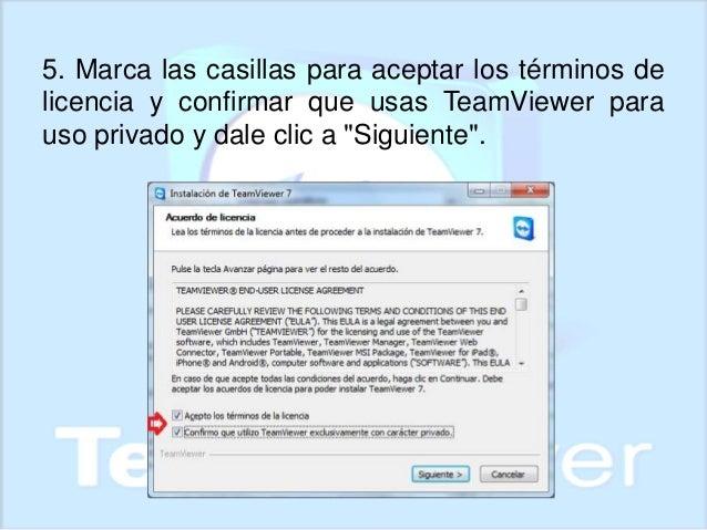 manual de team viewer rh es slideshare net Teamviewer 6