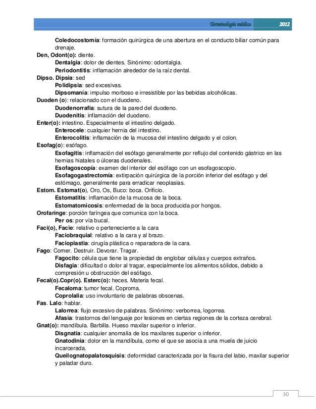 Manual de terminologia medica guia para el estudiante for Terminologia gastronomica pdf