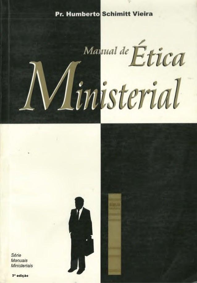 Série Manuais M inisteriais 2a edição