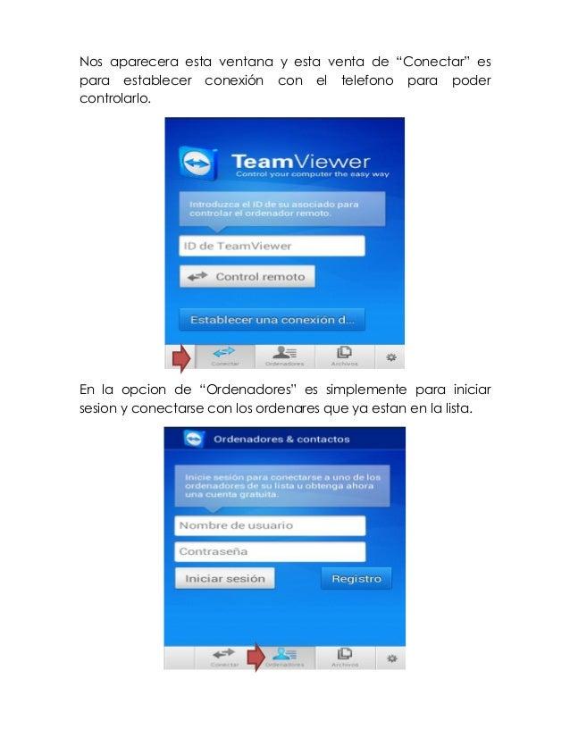 manual de transferencia de datos con teamviewer rh es slideshare net TeamViewer Mac to PC