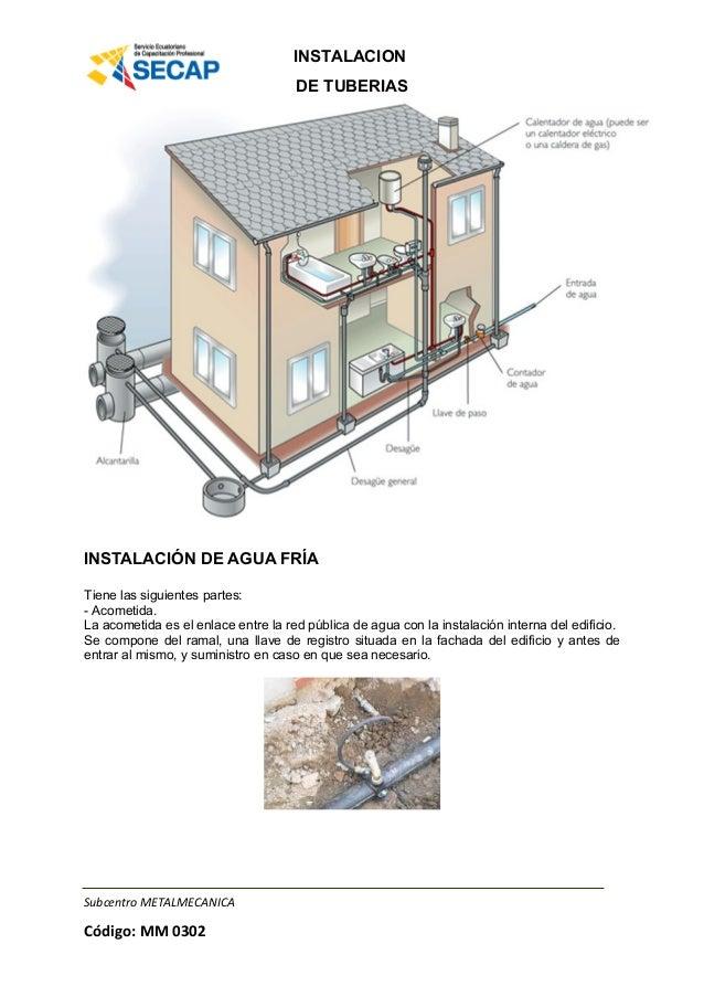 Manual de tuberias - Tuberias para agua potable ...