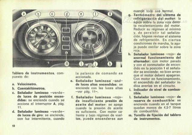 manual de uso fiat 128 berlina 1972 rh slideshare net fiat 128 manual de taller pdf manual fiat 128