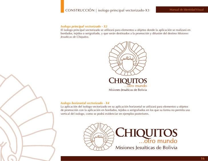 CONSTRUCCIÓN | isotipos de apoyo                                 Manual de Identidad Visual                               ...