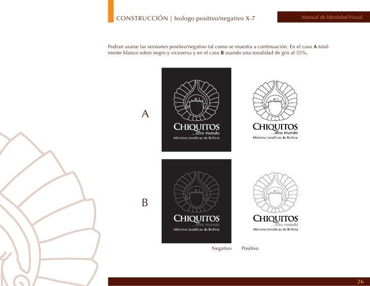 CONSTRUCCIÓN | colores de fondo permitidos                                                 Manual de Identidad VisualSe mu...