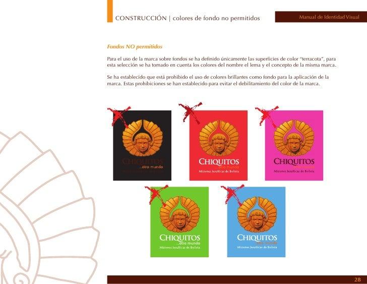 CONSTRUCCIÓN | uso sobre fotografías                                                  Manual de Identidad VisualUso sobre ...