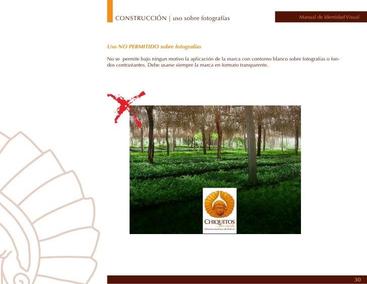CONSTRUCCIÓN | distorsión                                                           Manual de Identidad VisualDistorsiones...