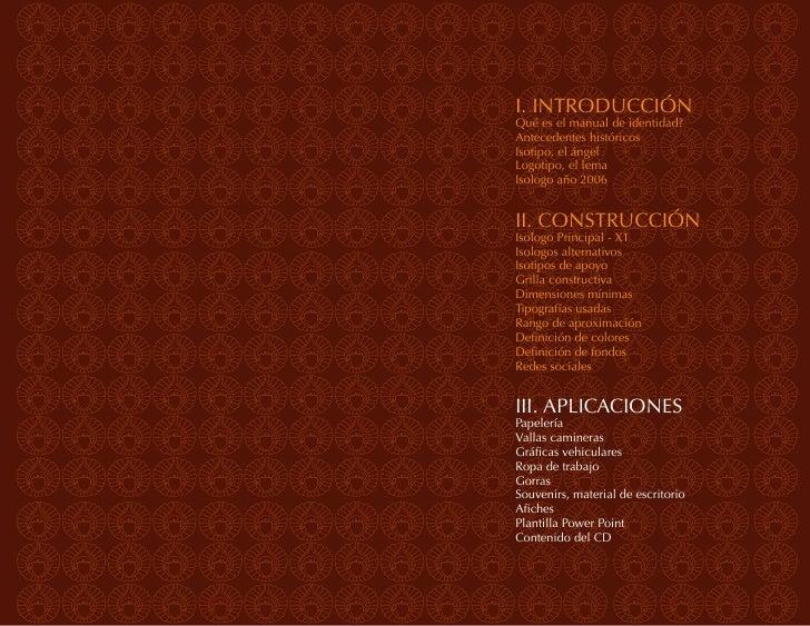 APLICACIONES | Folletería y papelería                                                Manual de Identidad VisualIntroducció...