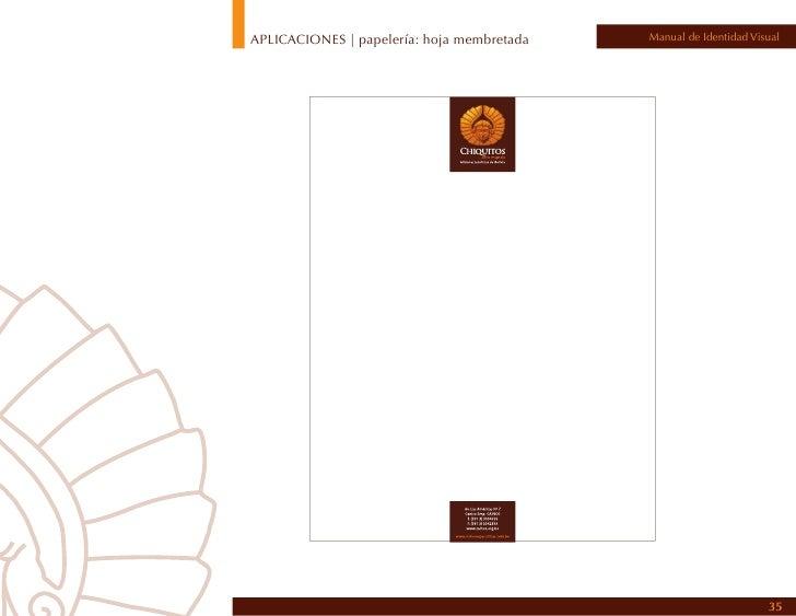 APLICACIONES | Papelería                                                              Manual de Identidad VisualTarjetas p...