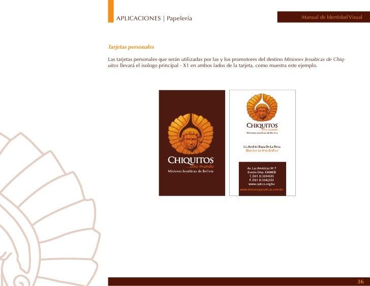 APLICACIONES | papelería: sobre   Manual de Identidad Visual                                                         37