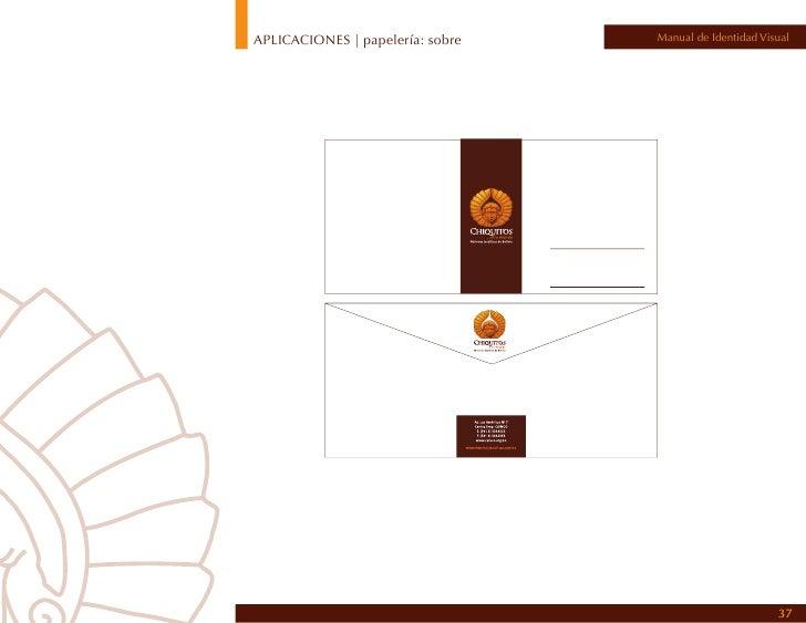 APLICACIONES | papelería: hoja compartida   Manual de Identidad Visual                                                    ...