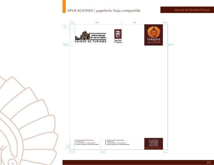 APLICACIONES | papelería: sobre compartido   Manual de Identidad Visual                                                   ...