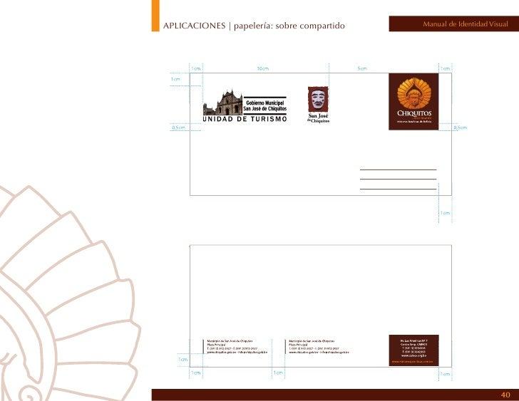 APLICACIONES | papelería: folder                                                    Manual de Identidad VisualFolder membr...