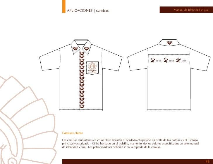APLICACIONES | camisas                                                                Manual de Identidad VisualCamisas os...