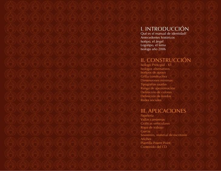 INTRODUCCIÓN | manual                                                                Manual de Identidad VisualManual de i...