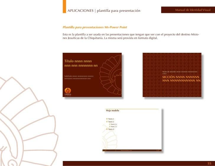 APLICACIONES | contenido CD de apoyo                                                Manual de Identidad VisualContenido de...