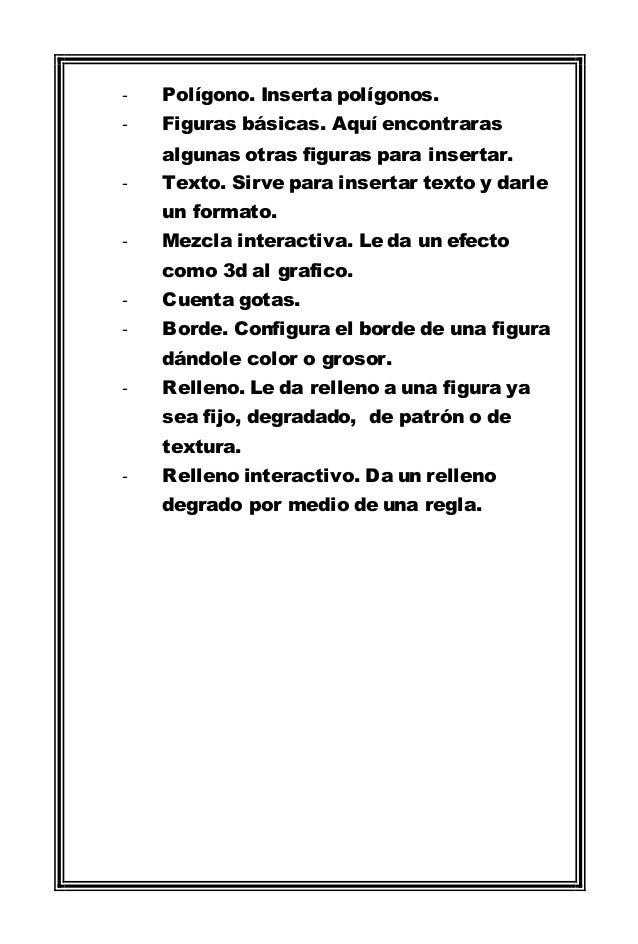 Manual de uso de corel draw