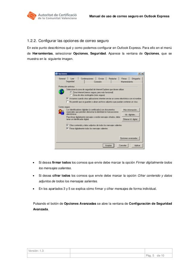 Outlook express инструкция