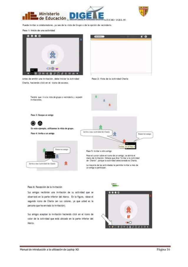 Manual de uso de las laptop xo