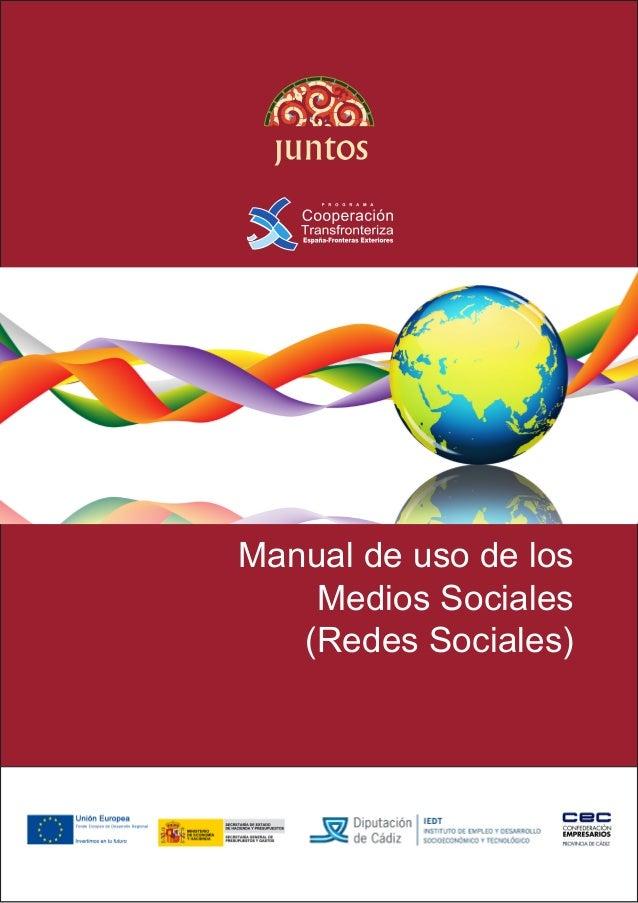 1 Manual de uso de los Medios Sociales (Redes Sociales)