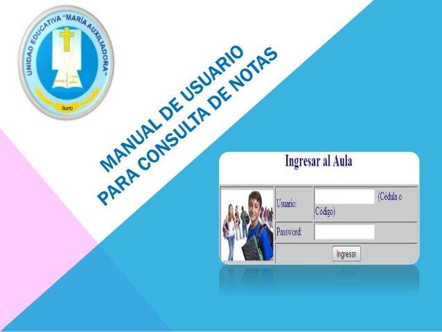 1. INGRESAR A LA PÁGINA DE LA INSTITUCIÓN www.mariuxiquito.co m