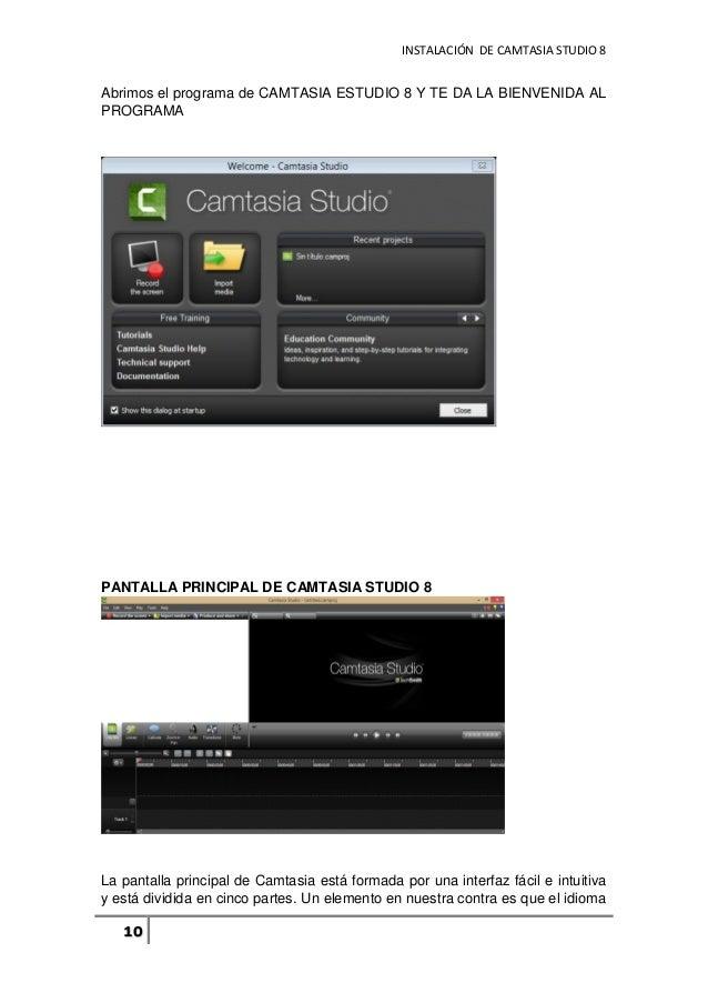 manual de usuario basico del programa camtasia studio 8 rh slideshare net manual camtasia manual camtasia studio 9