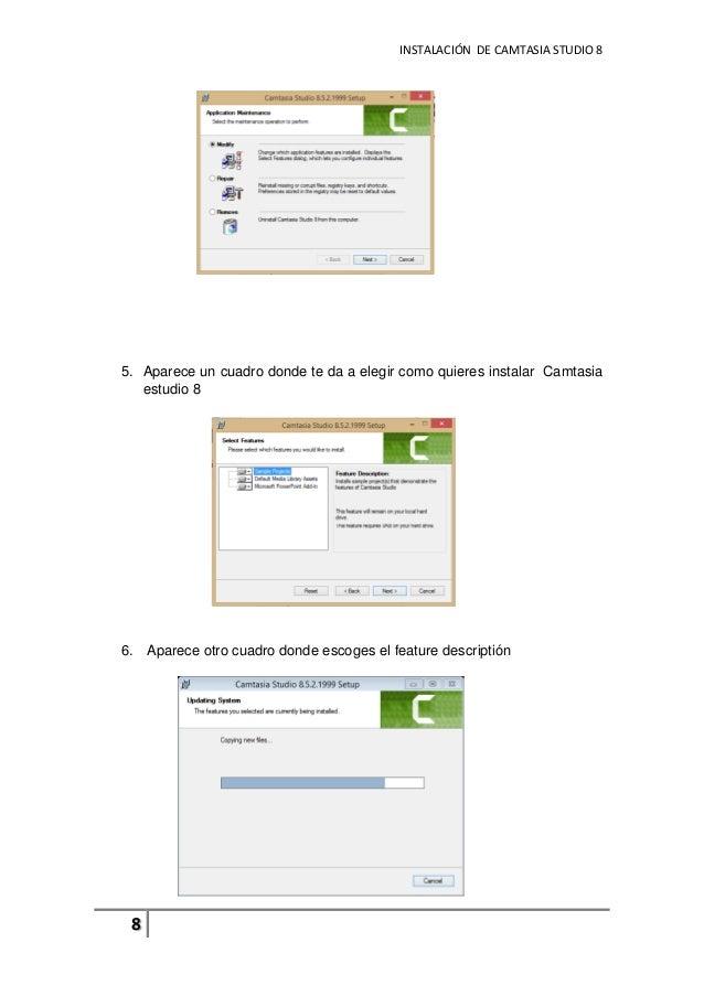 manual de usuario basico del programa camtasia studio 8 rh slideshare net manual de camtasia studio 8 pdf manual de camtasia studio 8 pdf