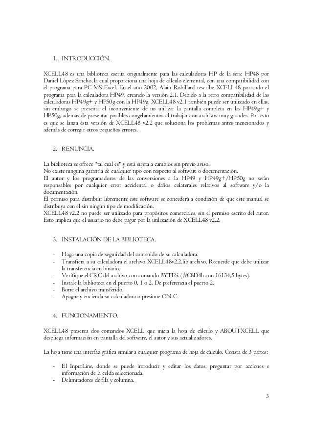 Manual de usuario xcell48 v1.1 Slide 3