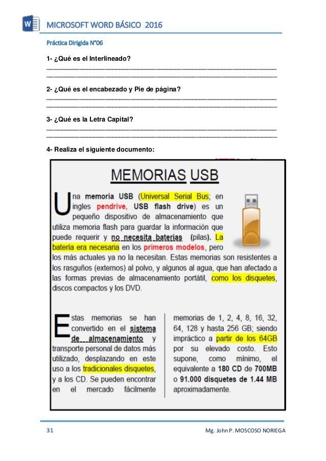 manual de word 2010 basico en español pdf