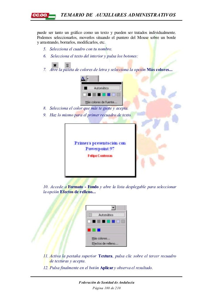 Manual de worl,excel,access y power point