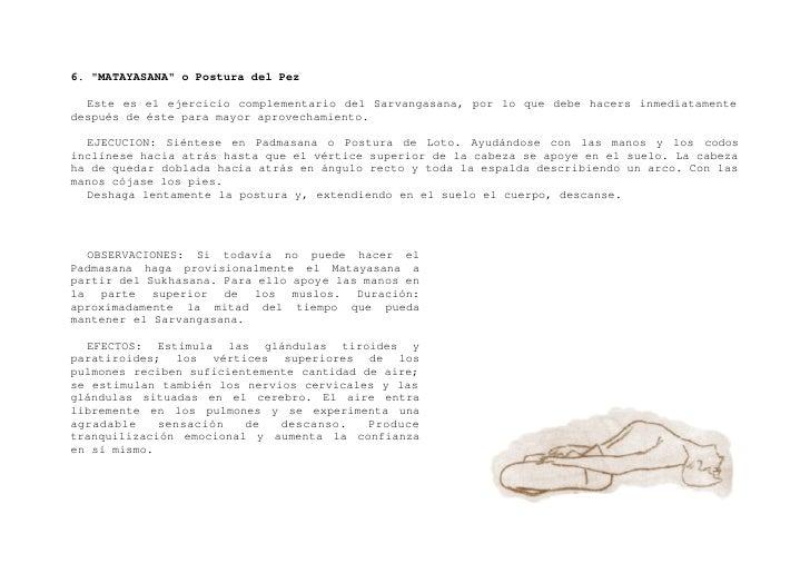 """7. """"PASCHIMOTTASANA"""" o Postura de extensión posterior    EJECUCION: Acostado de espaldas al suelo separe lateralmente los ..."""