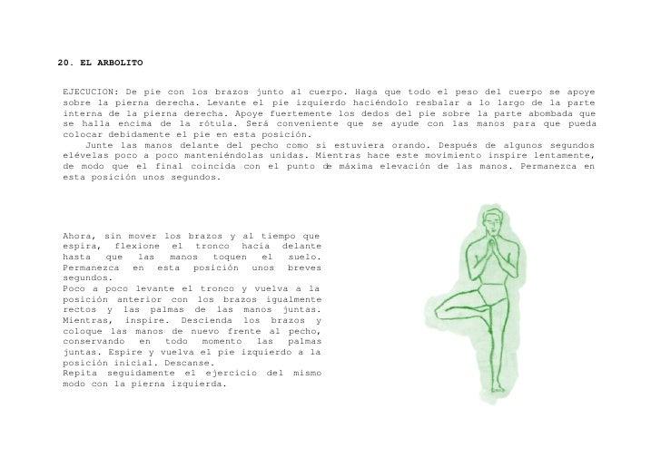 """21. """"VIPARITA - KARANI"""" o Postura Pélvica     EJECUCION: Extendido en el suelo boca arriba, brazos a lo largo del cuerpo y..."""