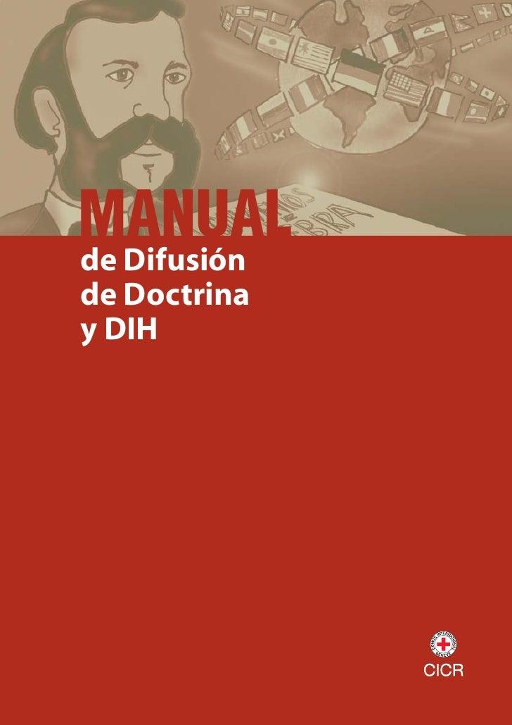 MANUAL de Difusión de Doctrina y DIH