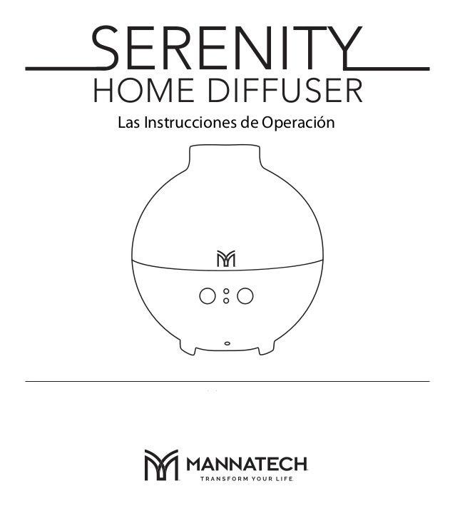 Manual difusor Serenity
