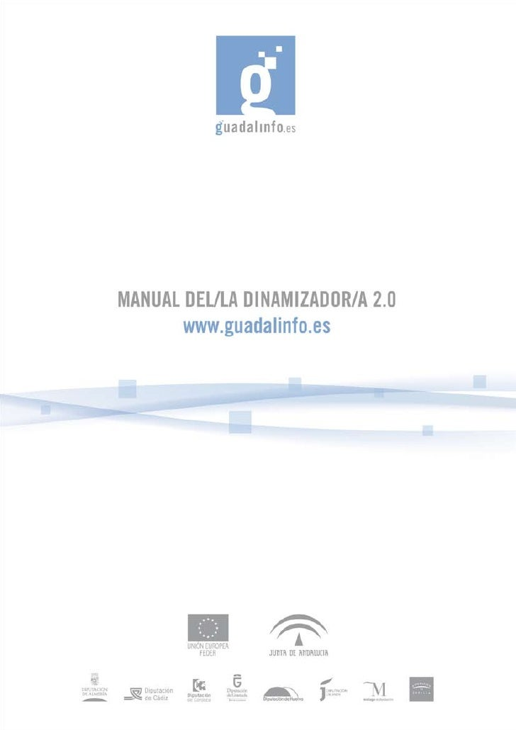 Youtube     MANUAL DEL/LA DINAMIZADOR/A 2.0   1