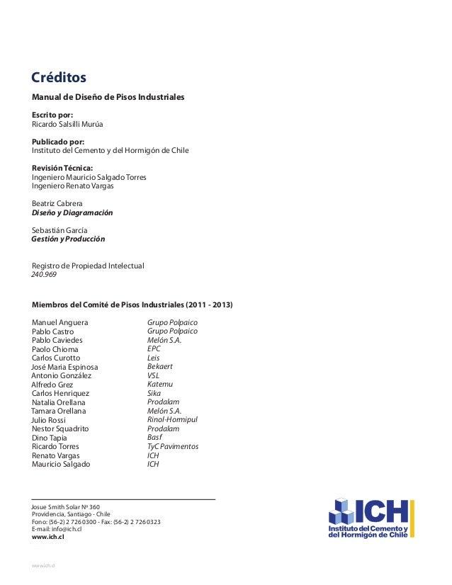 Manual dise o de pisos industriales for Manual diseno de interiores pdf