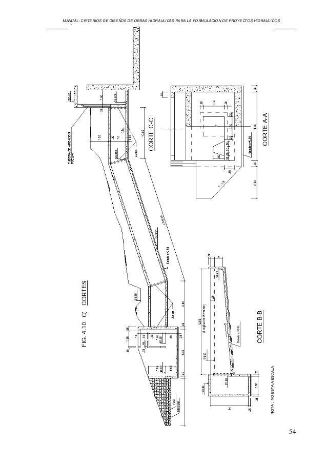 Manual diseño obras hidraulicas ana