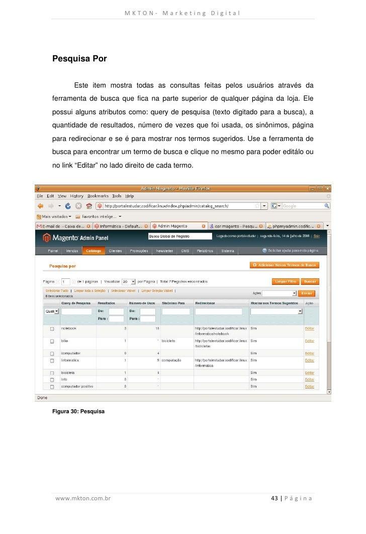 MKTON- Marketing DigitalPesquisa Por       Este item mostra todas as consultas feitas pelos usuários através daferramenta ...