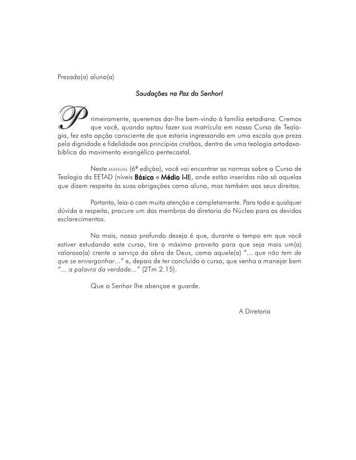 Manual do aluno - EETAD