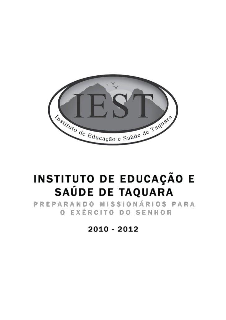 Manual do aluno - IEST Slide 2