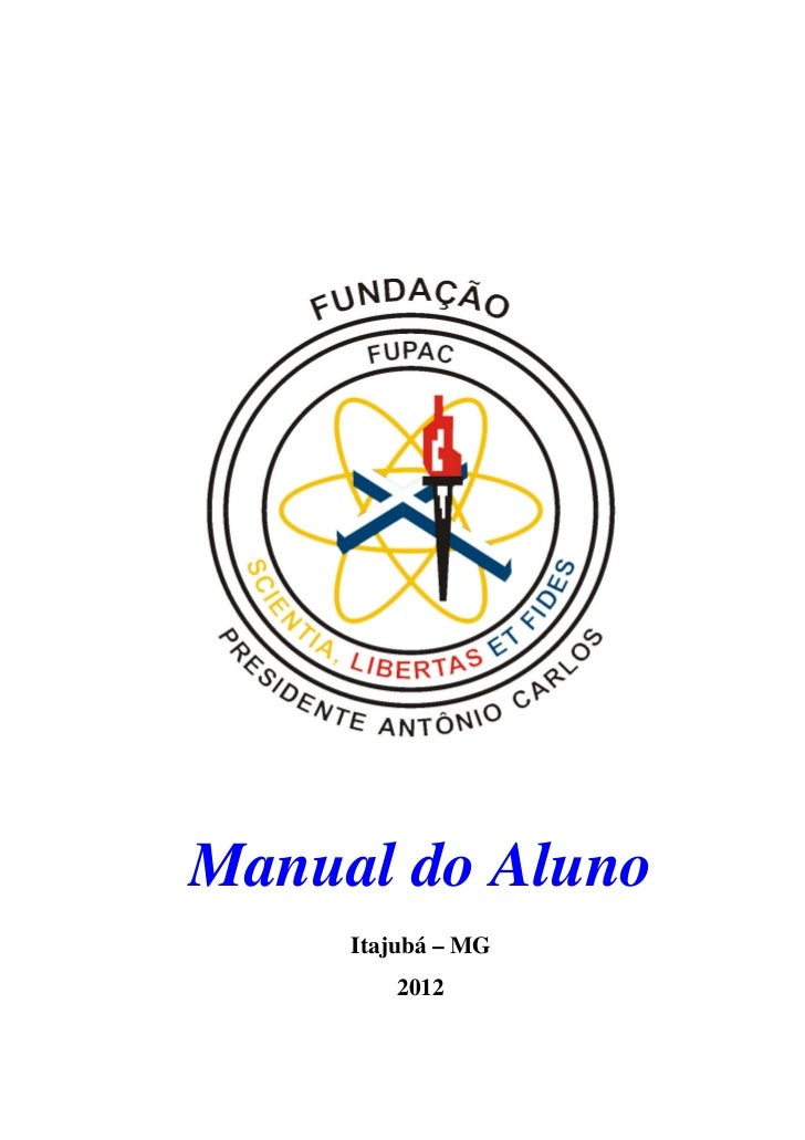 Manual do Aluno     Itajubá – MG        2012