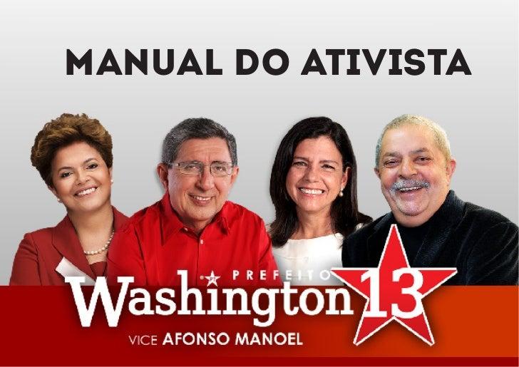 MANUAL DO ATIVISTA