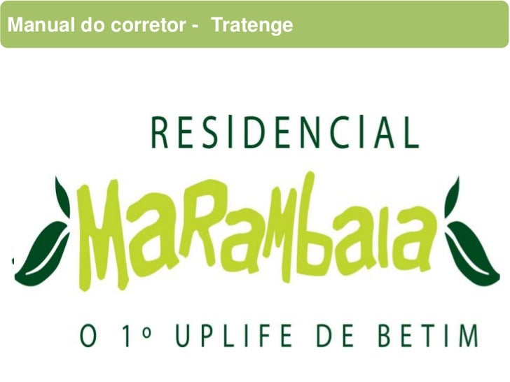 Manual do corretor - 	Tratenge<br />