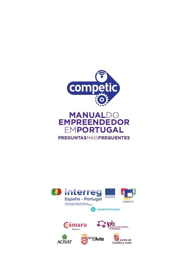 Manual do empreendedor em Portugal Slide 3