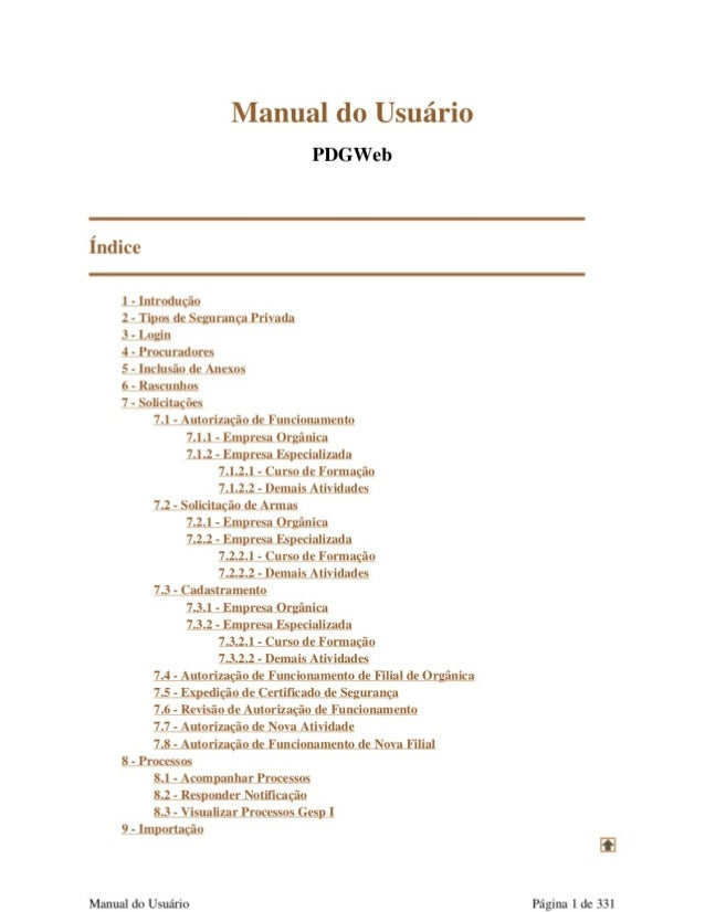 Manual do gesp