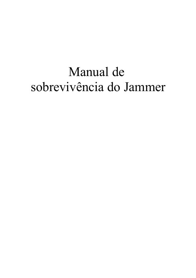 Manual desobrevivência do Jammer