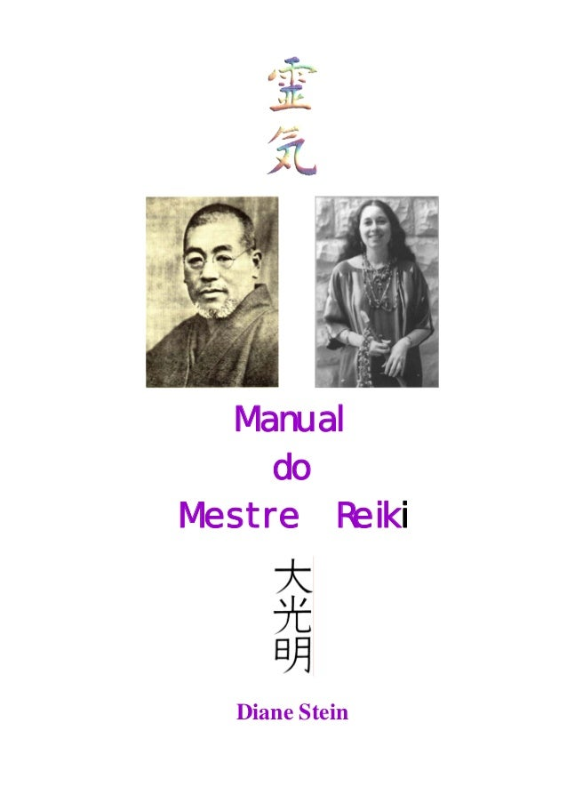 Manual do Mestre Reiki Diane Stein
